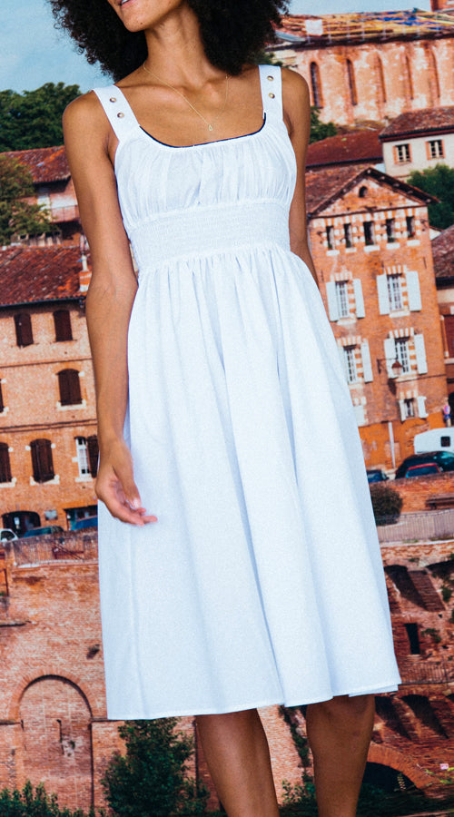 Ciao Lucia | Lara Dress - White