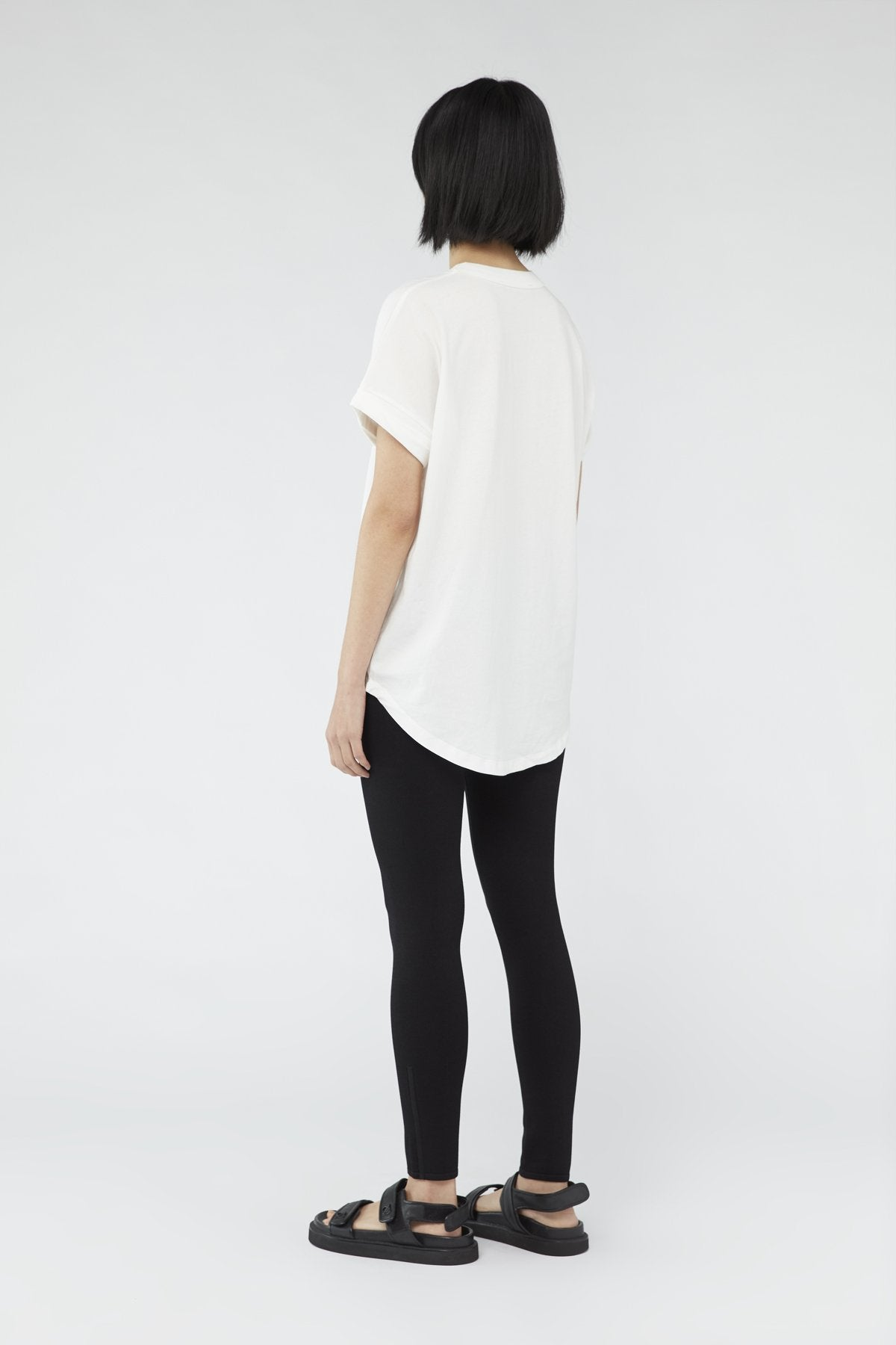 Camilla and Marc Womens T Shirt C&M | Huntington 2.0 Tee - White with Black