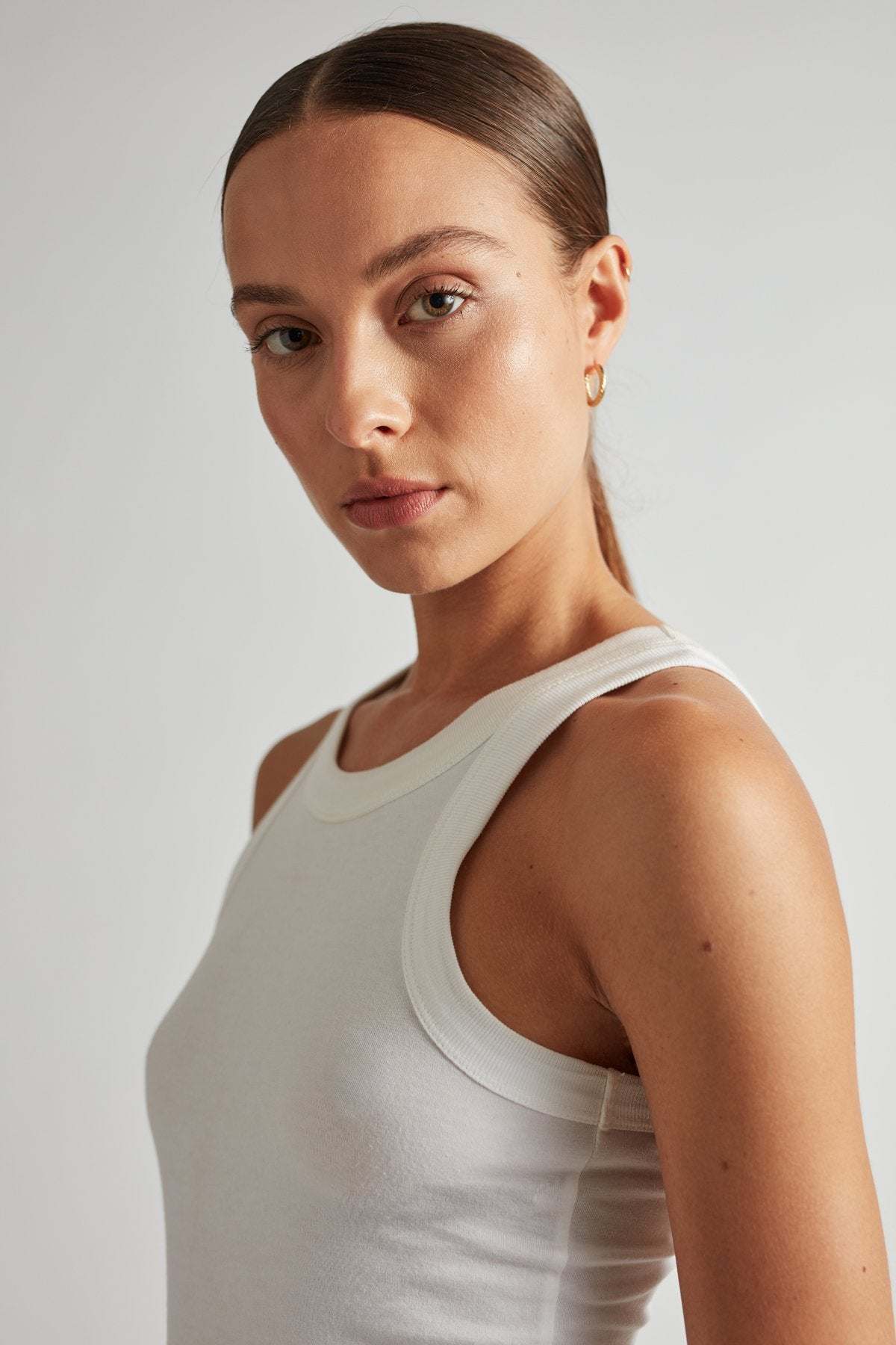 Camilla and Marc Womens Tops C&M | Park Tank - White