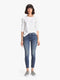 Edwards Imports Ltd Womens Jeans Mother Denim | The Looker Ankle Fray - Groovin'