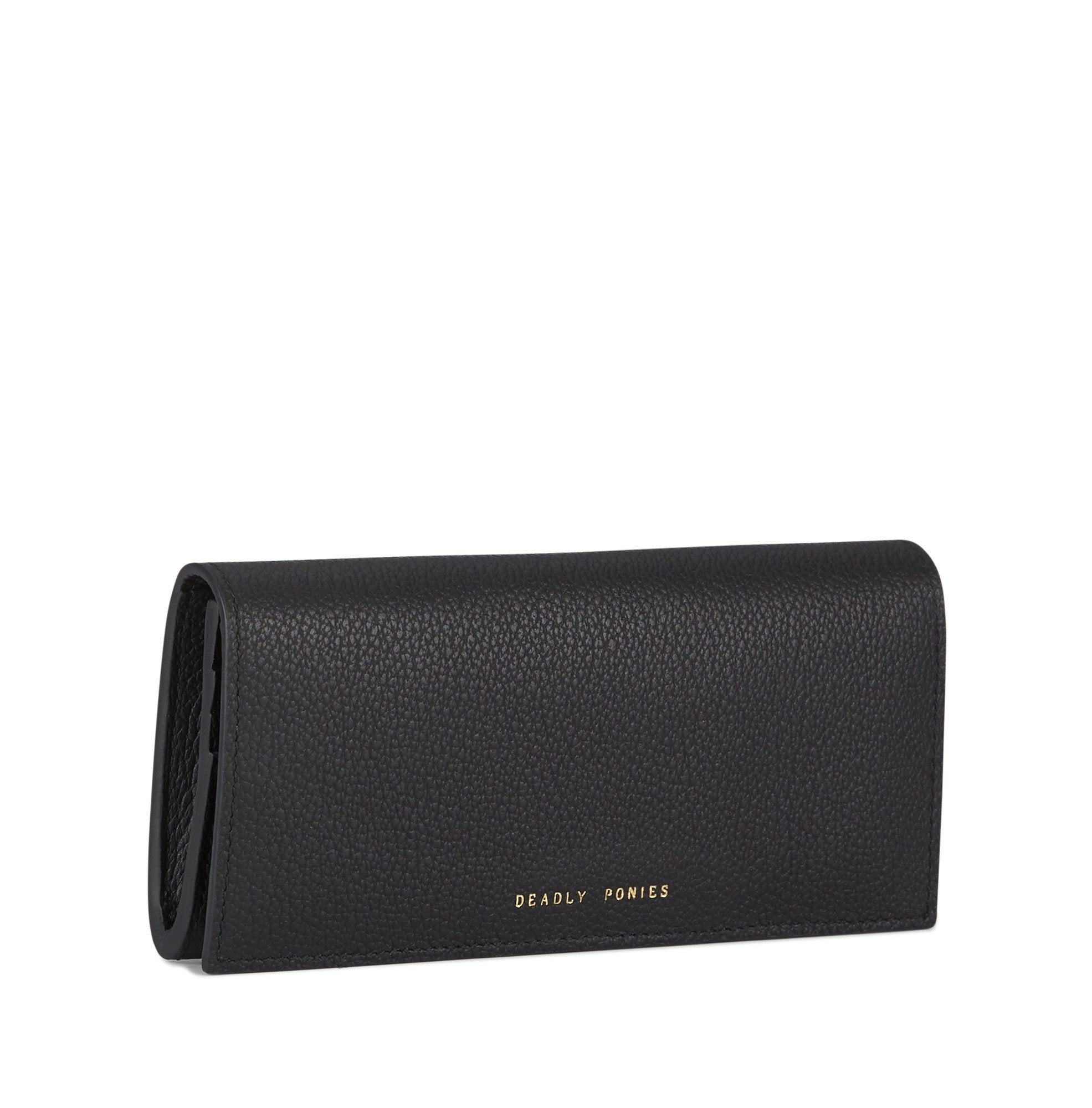 DEADLY PONIES BAG BLACK Deadly Ponies | Lady Wallet  -  Black