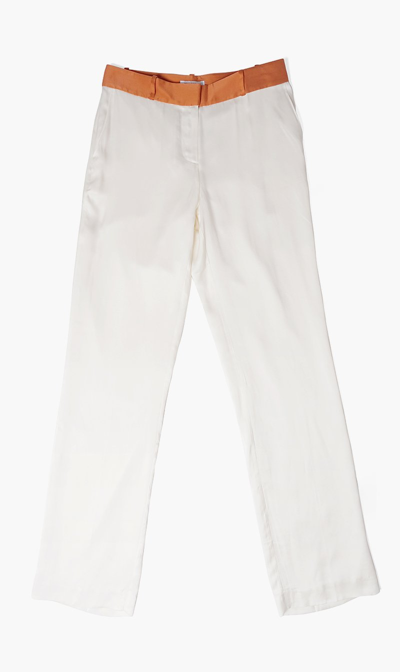 Edwards Imports Ltd Womens Pants NATWHT / 2 Equipment | Lita Trouser - Natural
