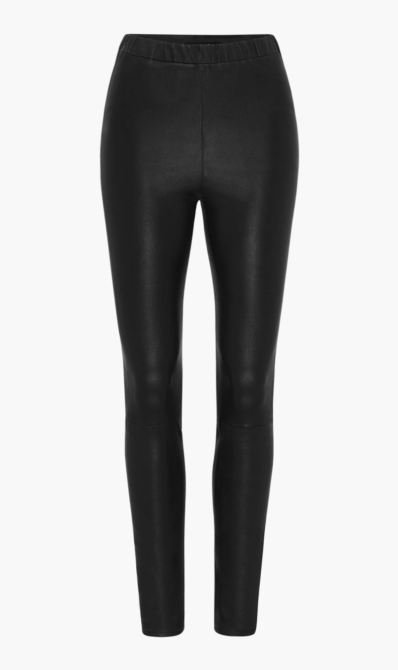 Edwards Imports Ltd Womens Pants J Brand | Macey Highrise Pull On Legging - Black