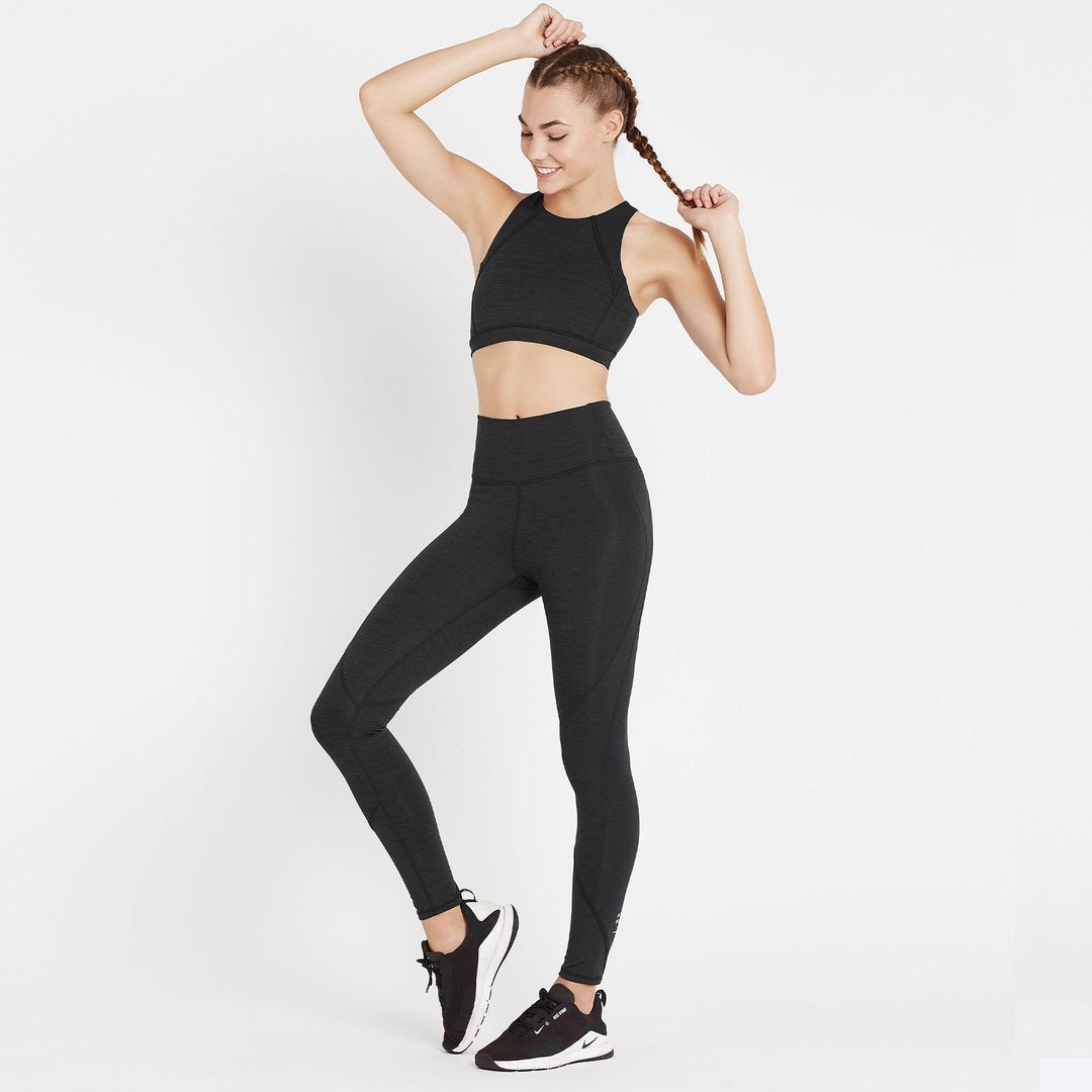 Nimble Activewear Activewear Nimble Activewear | All In Bra - Heather Black