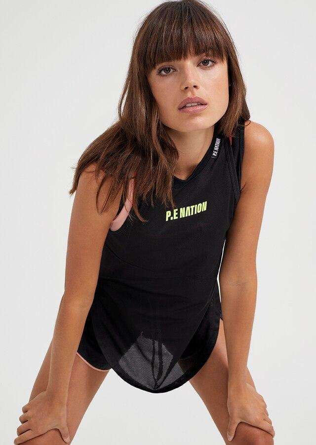 P.E NATION Activewear PE Nation | Opponent Tank - Black