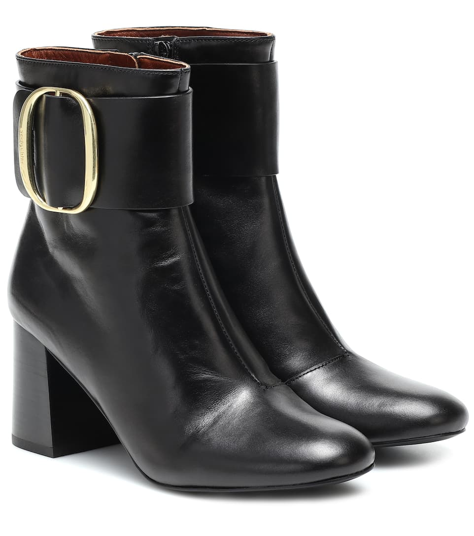 Onward Luxury Group SHOE See by Chloé | Hopper High Boot - Black