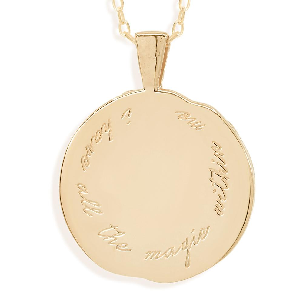 By Charlotte Jewellery GOLD By Charlotte | Pisces Zodiac Necklace - Gold