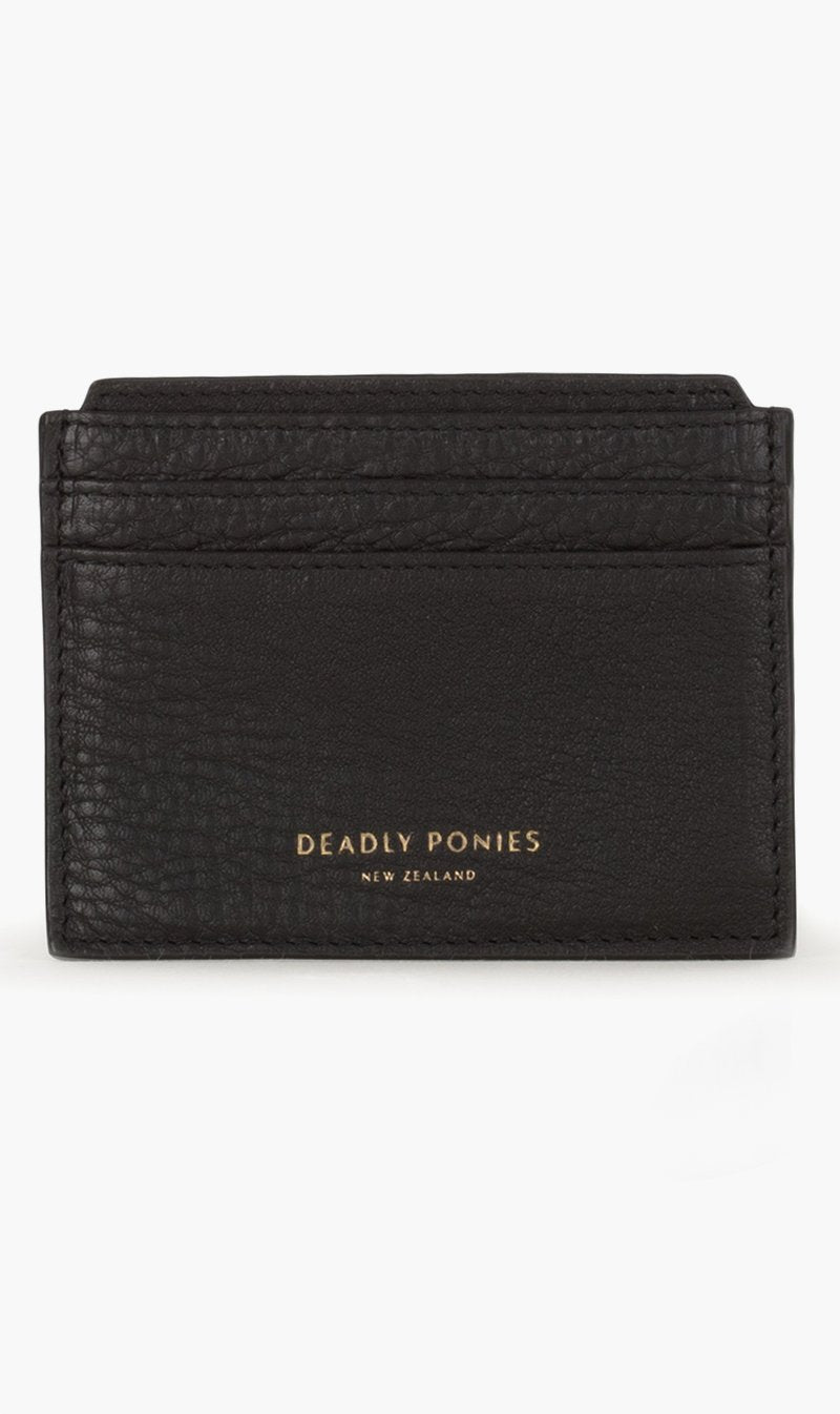 DEADLY PONIES ACC BLACK Deadly Ponies | Card File New - Black