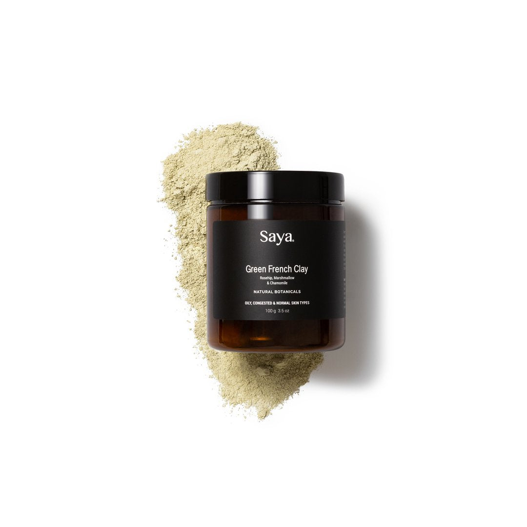 Saya Skincare Pty Ltd SKINCARE 100G Saya Skincare | French Green Clay