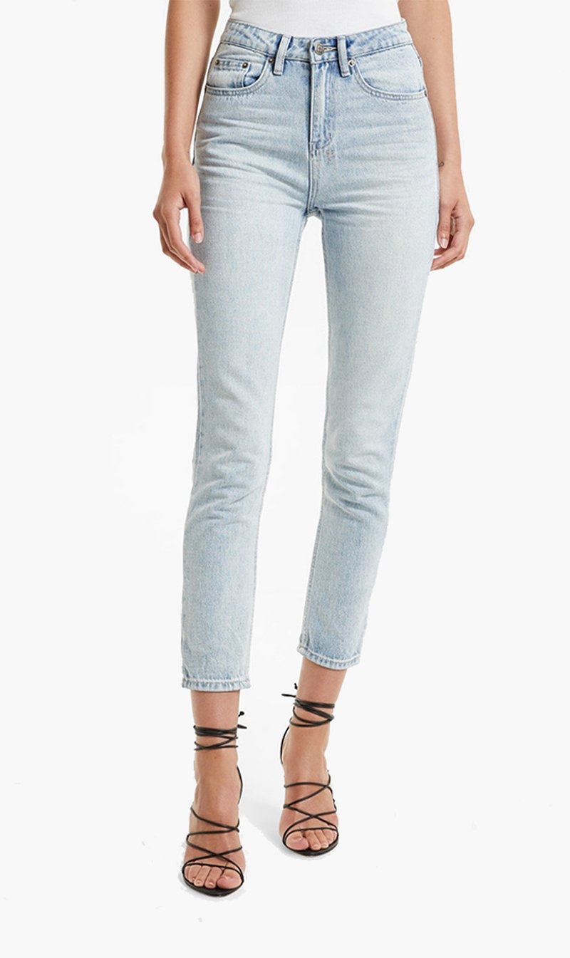 Stem Distribution Limited Womens Jeans Ksubi | Slim Pin - Eternal