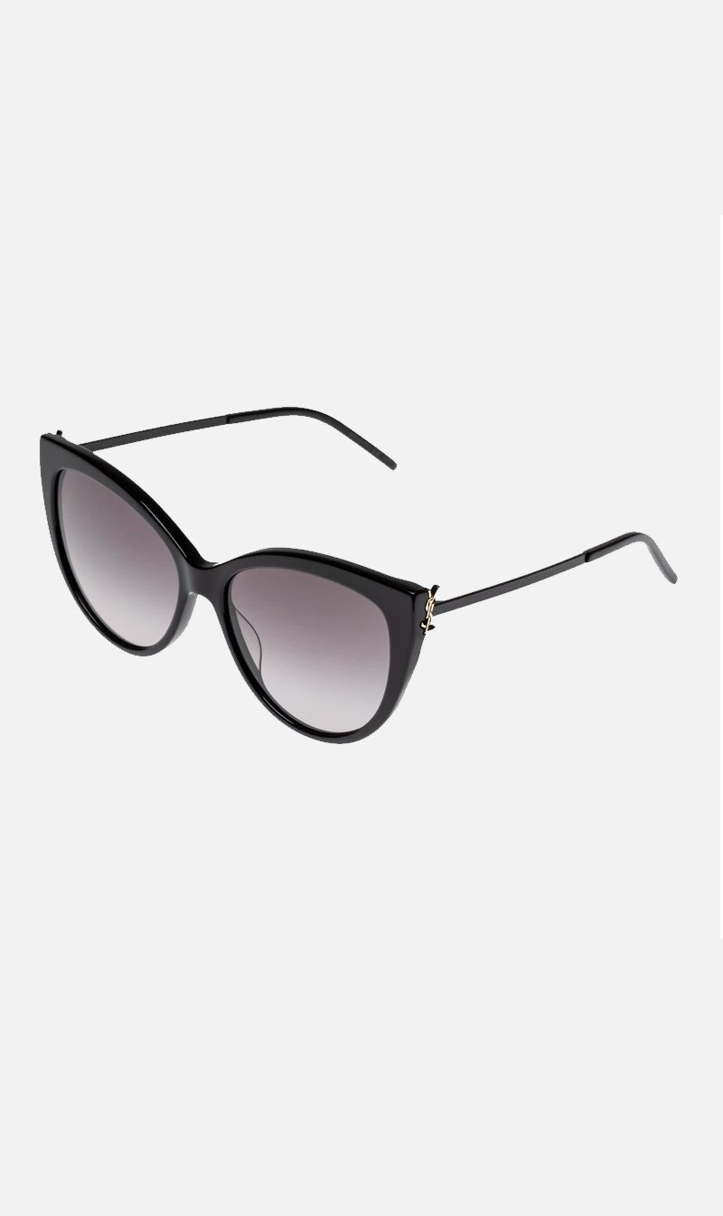 SUNSHADES EYEWEAR NZ Eyewear BLACK Saint Laurent | SLM48 - Black