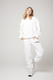 Popping Candy Ltd Womens Tops ATOIR | The Crew Neck - White
