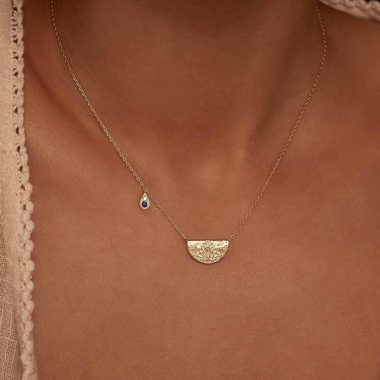 By Charlotte Jewellery GOLD By Charlotte | Live With Devotion Necklace - Gold