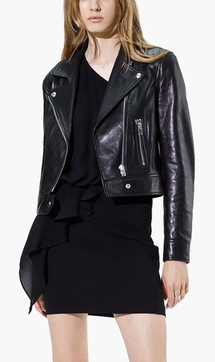 IRO Womens Jacket BLACK / 34 IRO | Bapey Jacket - Black