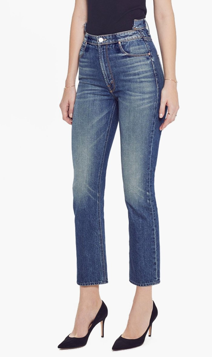 LIVE Fashion Womens Jeans SIN&SUFR / 24 Mother Denim | The Dazzler Shift Crop - Sin & Suffer