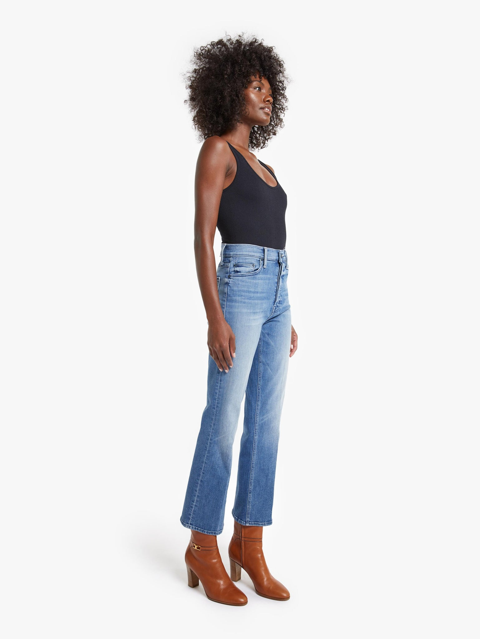 Edwards Imports Ltd Womens Jeans Mother | The Tripper Ankle - We The Animals