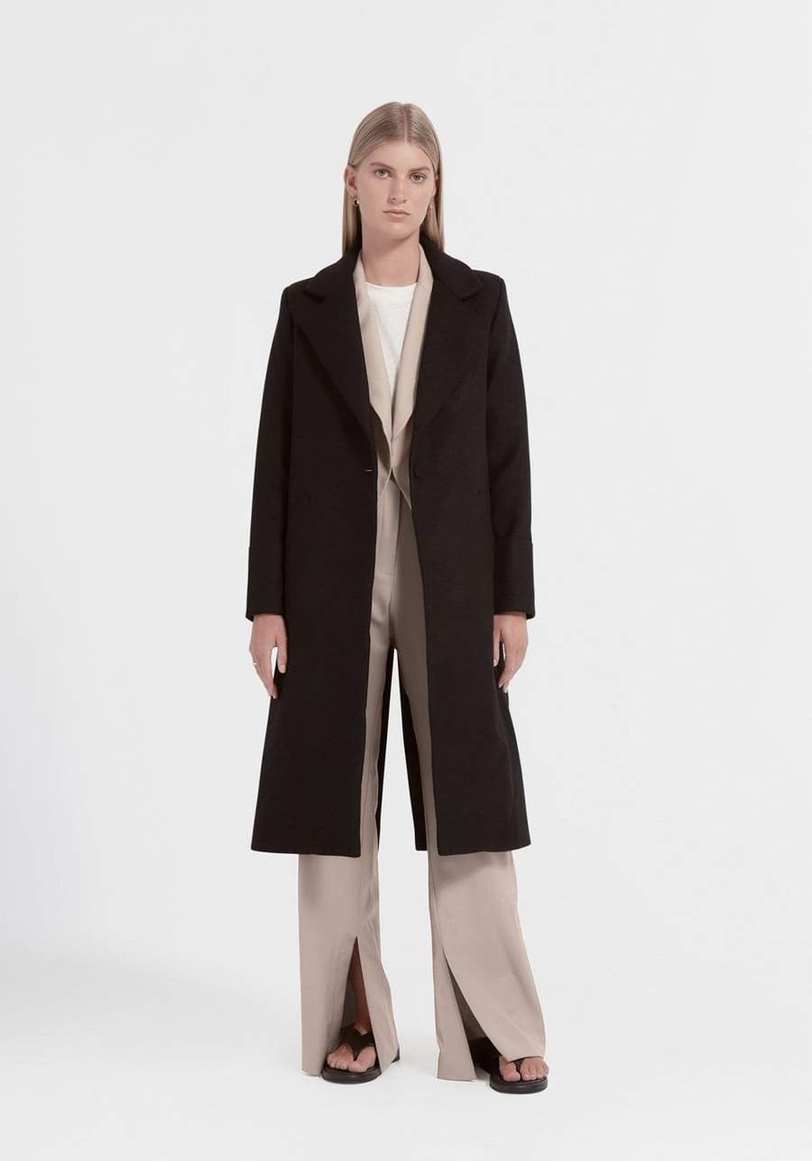 Viktoria & Woods | Valentina Wool Coat - Black