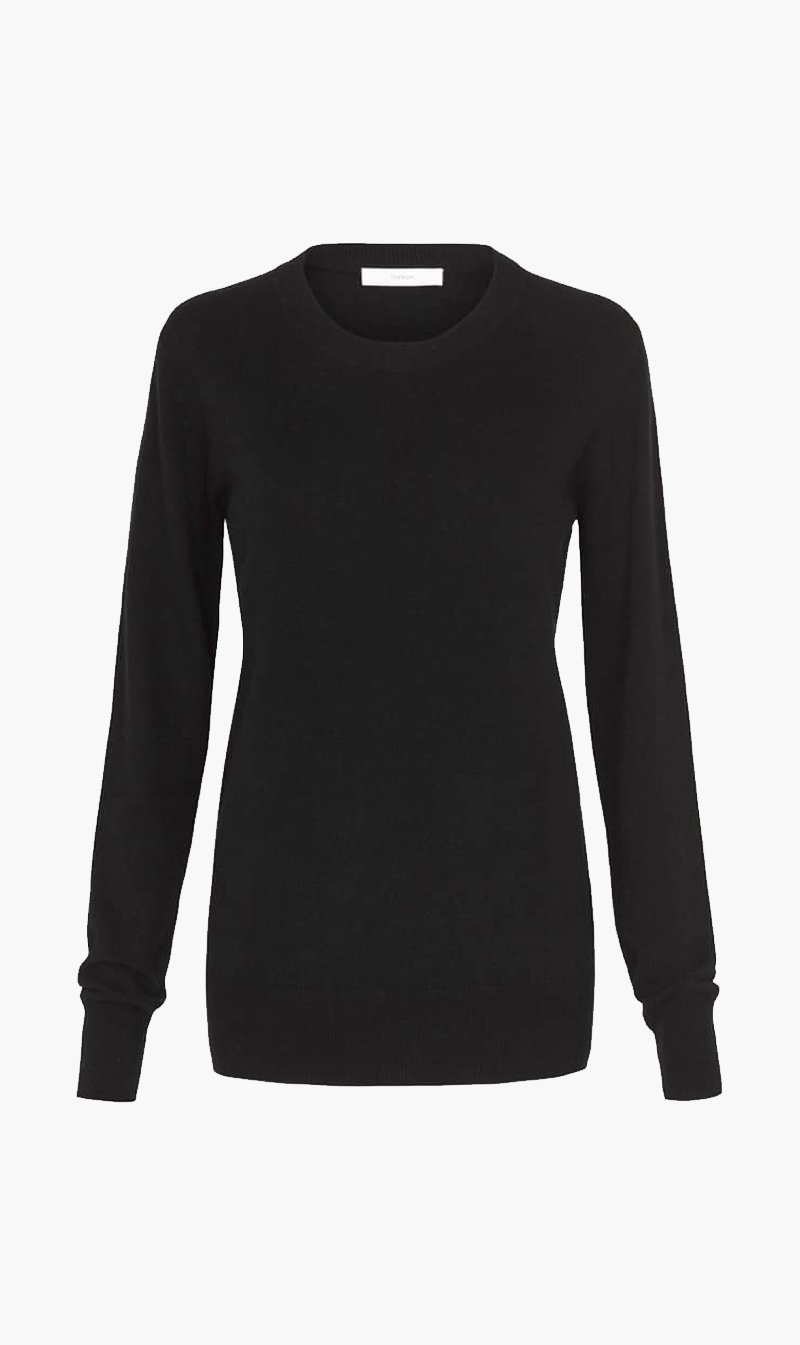 H Brand Pty Ltd Womens Tops H Brand X Theron | Aerin Sweater - Black