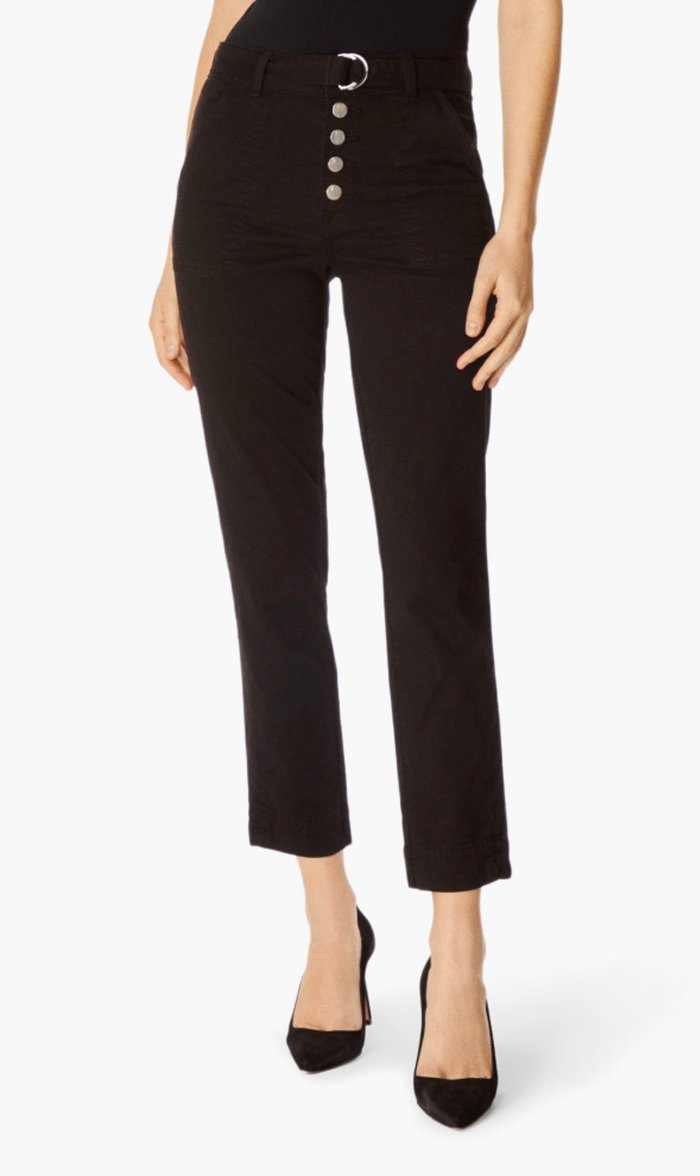 Edwards Imports Ltd Womens Pants BLACK / 24 J Brand | Kyrah High Rise Pant - Black