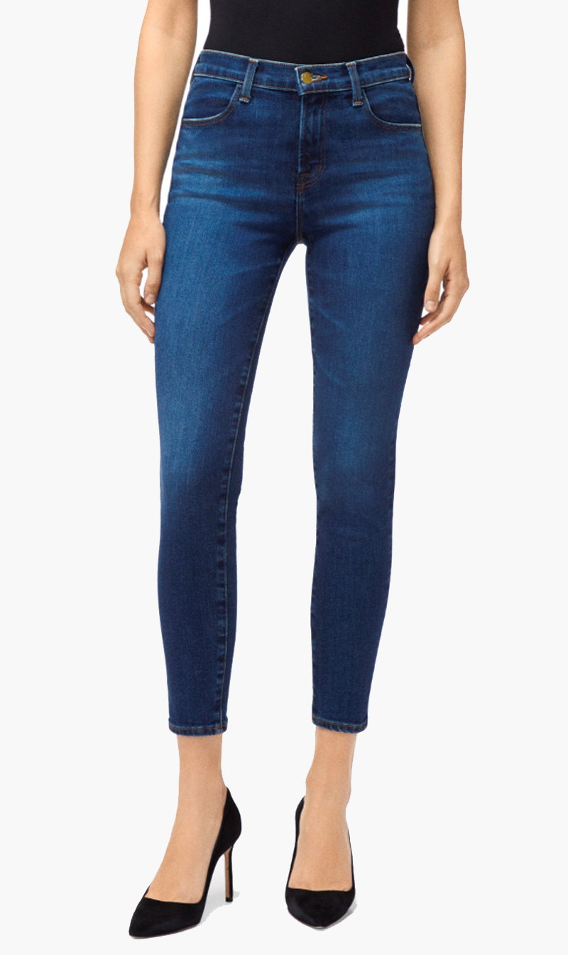 Edwards Imports Ltd Womens Jeans J BRAND | Alana High Rise Cropped Skinny - Arcade
