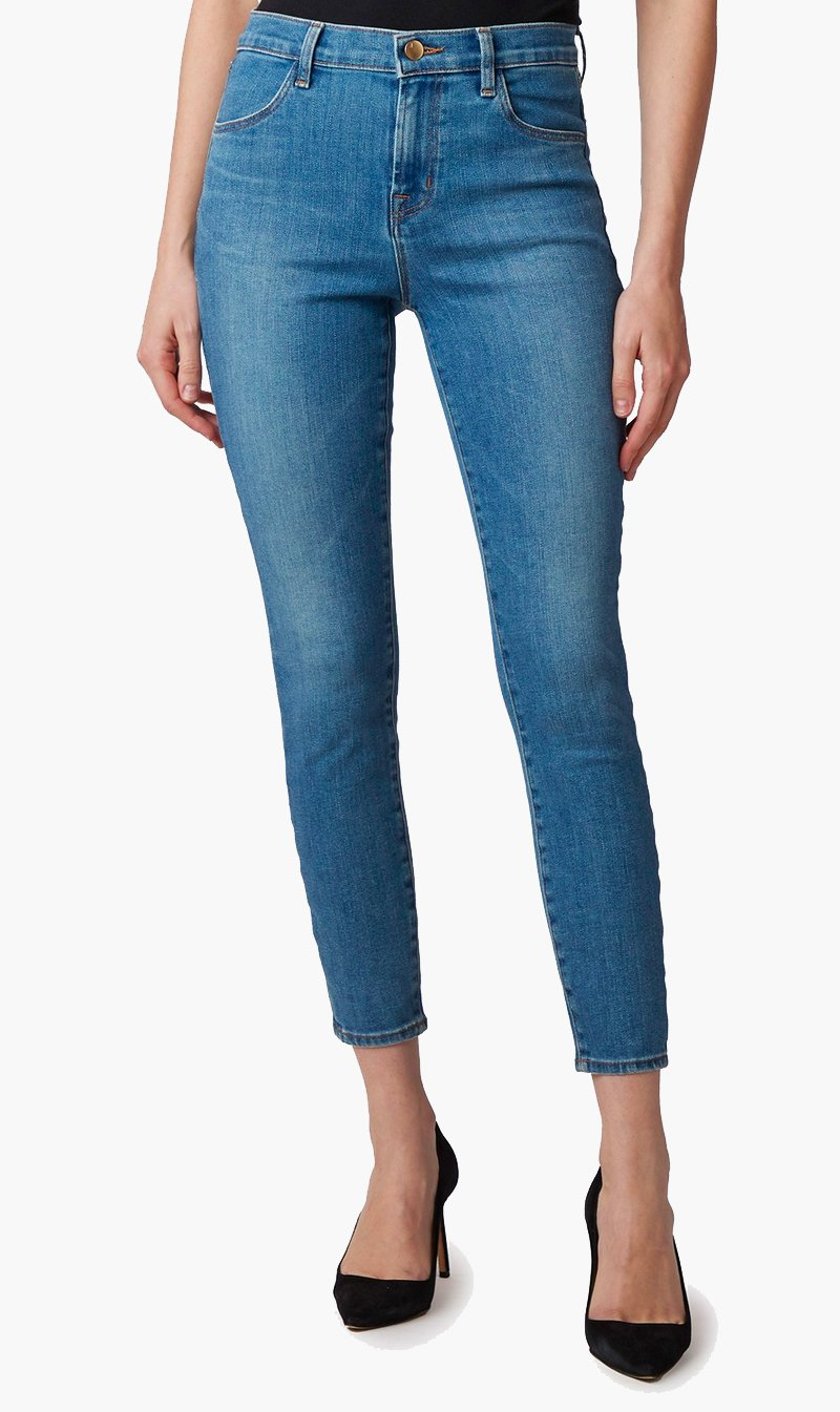 Edwards Imports Ltd Womens Jeans J Brand | Alana High Rise Crop Skinny - Pioneer