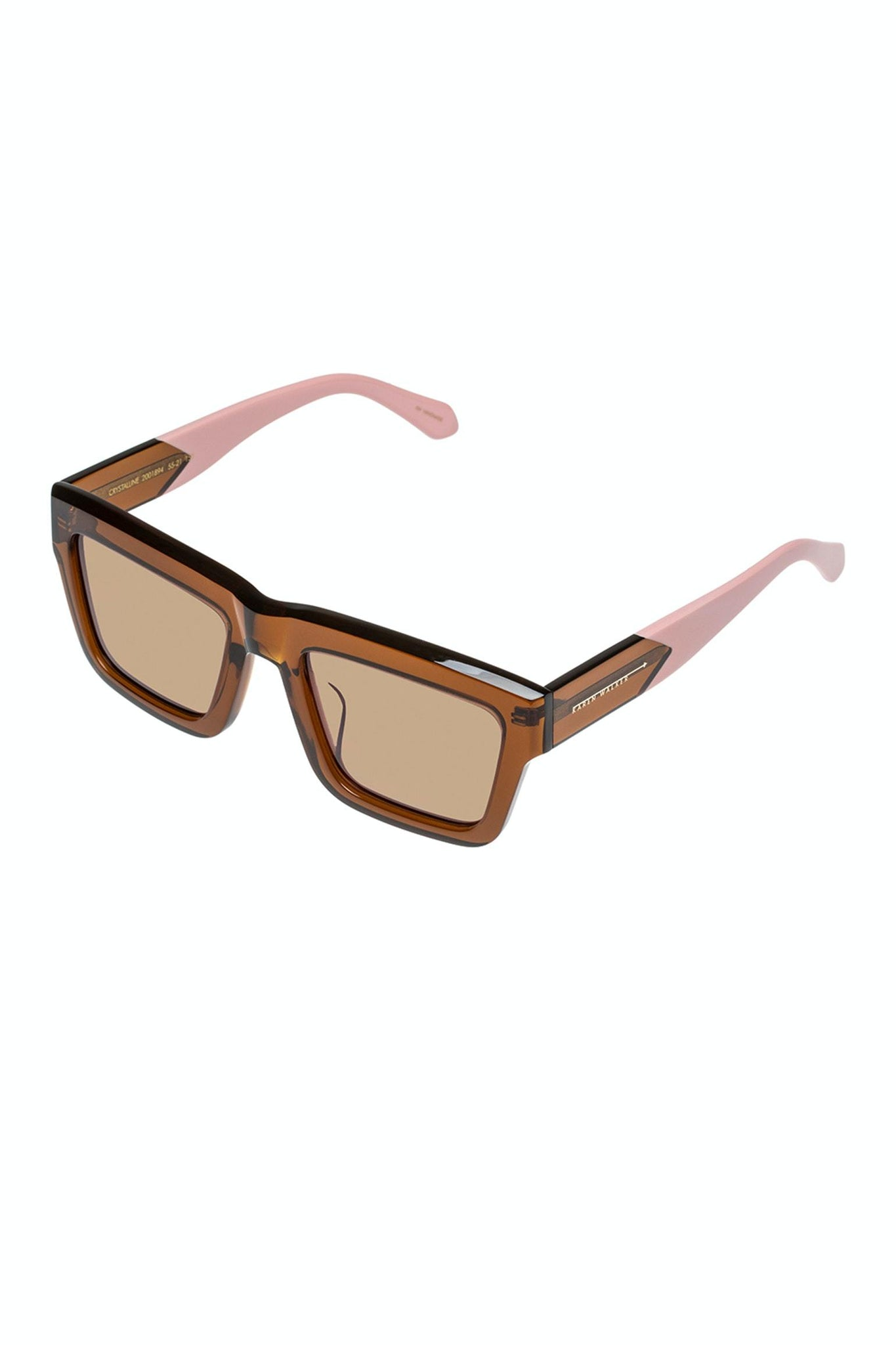 SUNSHADES EYEWEAR NZ Eyewear CINNAMON Karen Walker | Crystalline - Cinnamon