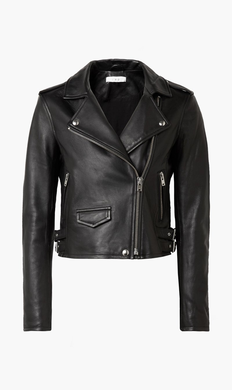 IRO Womens Jacket BLACK / 34 IRO | Ashville Biker Jacket - Black