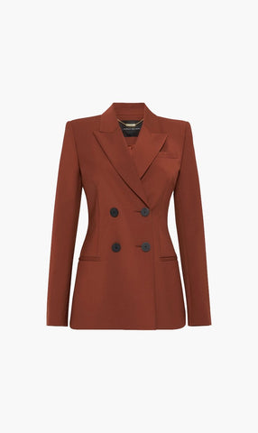 Camilla and Marc | Bailey Blazer - Cinnamon