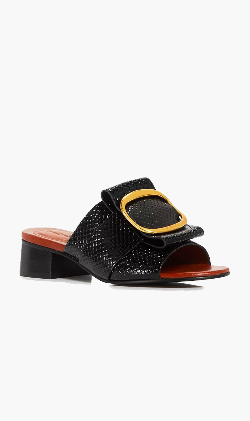 Onward Luxury Group SHOE See by Chloé | Hopper Mule - Nero