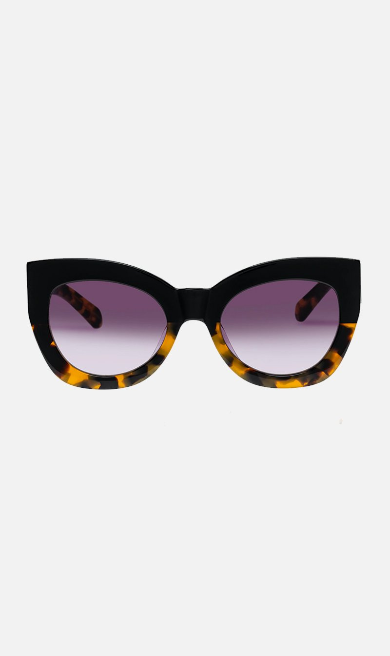 SUNSHADES EYEWEAR NZ Eyewear BLKCRZYTRT Karen Walker | Northern Lights - Black Crazy Tort