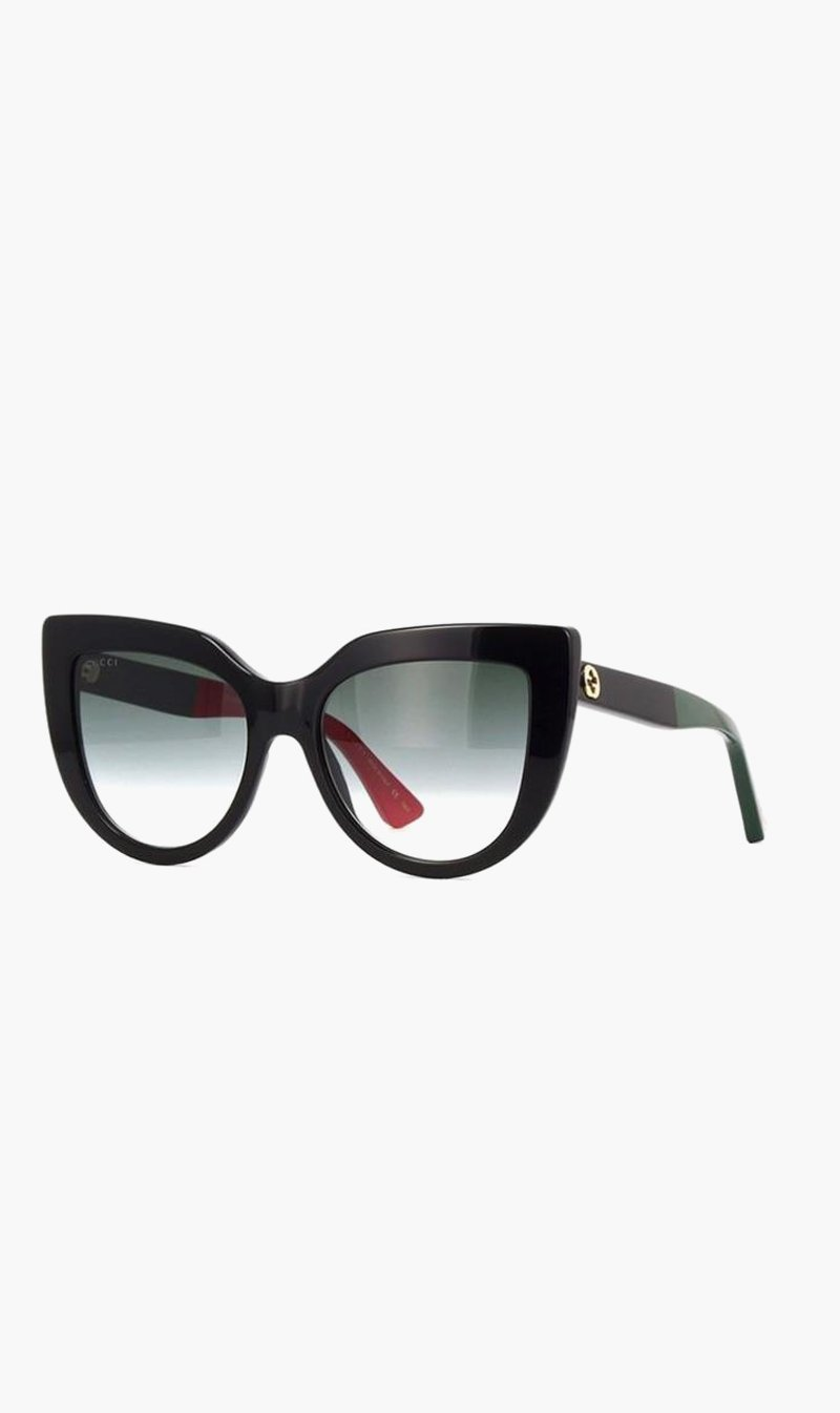 SUNSHADES EYEWEAR NZ Eyewear BLACK Gucci | GG0164S003 - Black