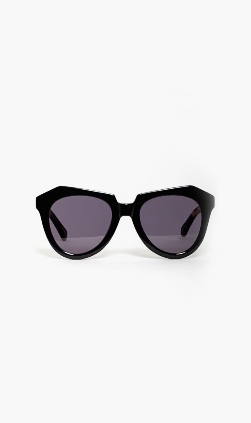 SUNSHADES EYEWEAR NZ Eyewear BLACK Karen Walker Eyewear | Number One - Black