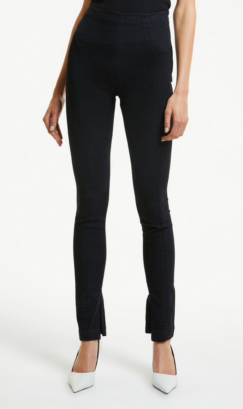 Stem Distribution Limited Womens Pants Ksubi | Luna Legging - Jet Black