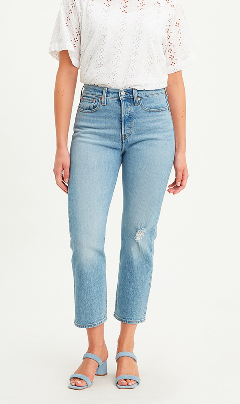 LEVI STRAUSS (NEW ZEALAND) LTD Womens Jeans Levi's | Wedgie Straight - Tango Blue