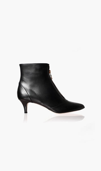Vanessa Bruno SHOE NOIR / 37 Vanessa Bruno | Bottine Zip Boot - Noir