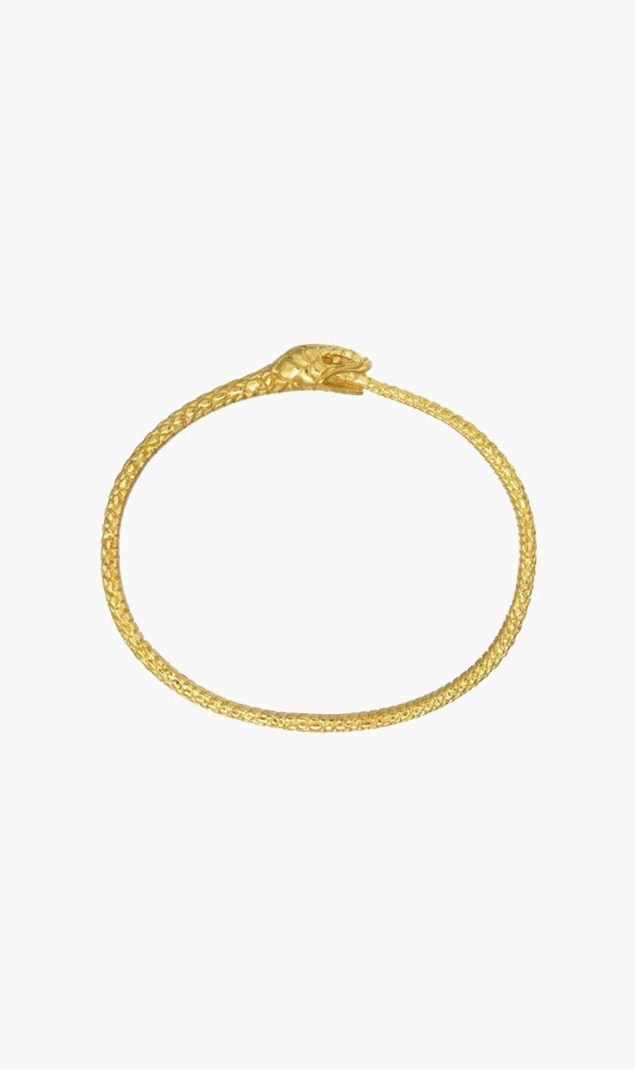 Zoe & Morgan Jewellery GOLD Zoe & Morgan | Eternity Snake Bracelet - Gold