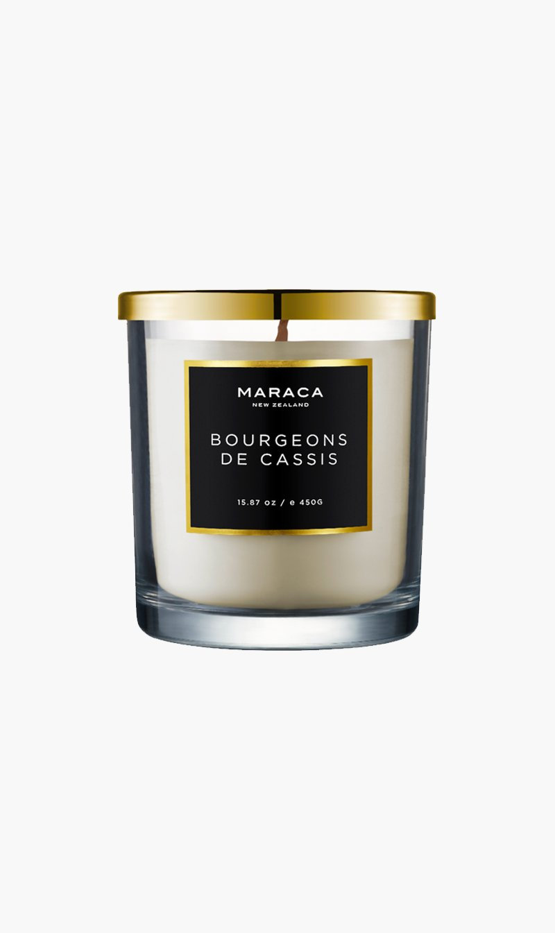 R O C CA Limited CANDLE BOURGEONS Maraca | Luxury Candle - Bourgeons De Cassis