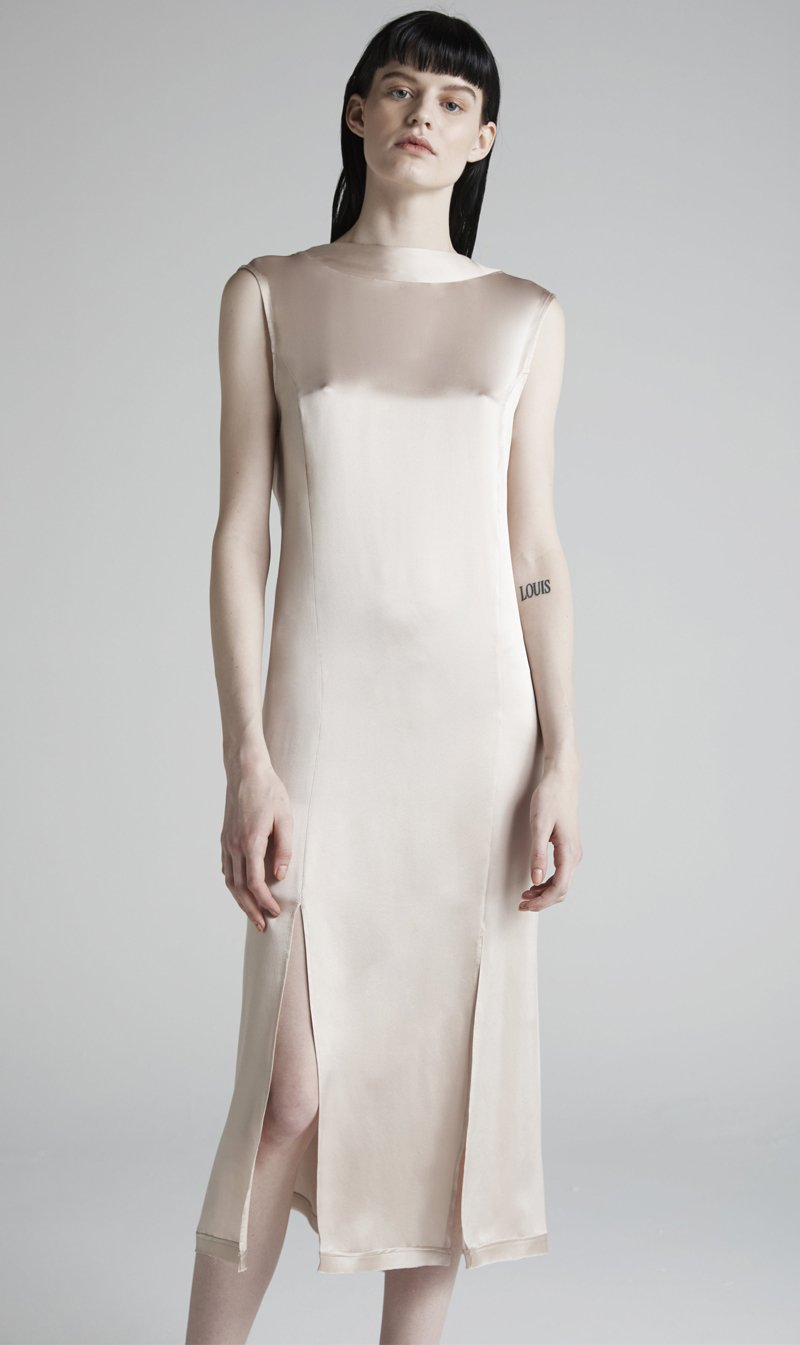 Jacinta James Womens Dress Jacinta James | Ethereal Dress - Champagne