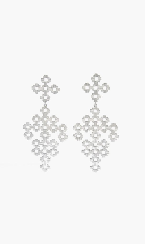 Zoe & Morgan Jewellery SILVER Zoe & Morgan | Chimi Earrings - Silver