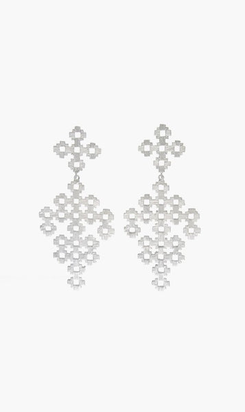 Zoe & Morgan | Chimi Earrings - Silver