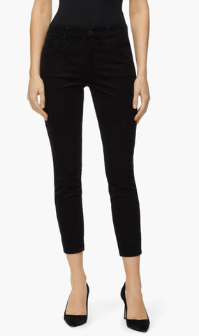 J Brand | 835 Mid Rise Cropped Skinny Jeans - Black Cord