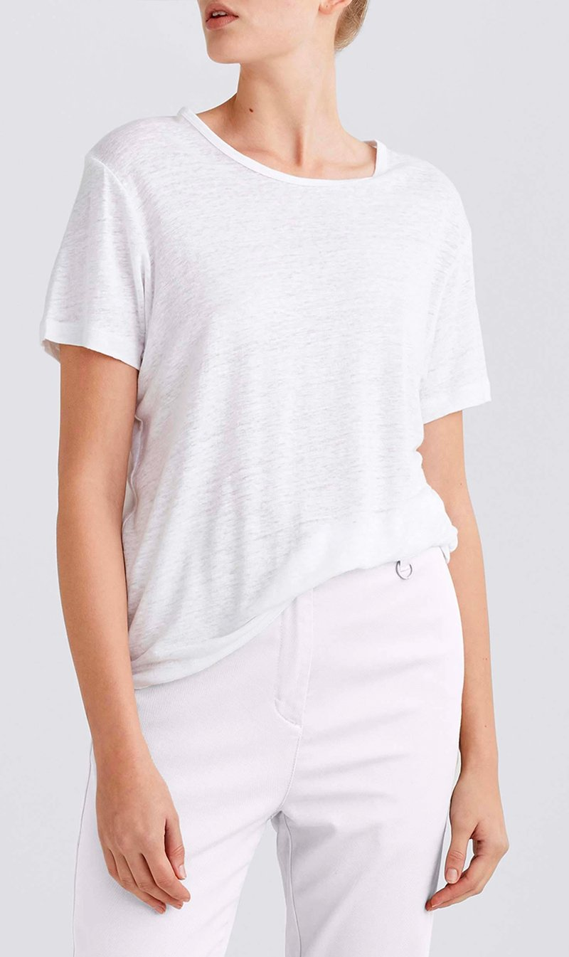 Jac and Jack Pty Ltd Womens T Shirt Jac + Jack | Cuba Tee - White