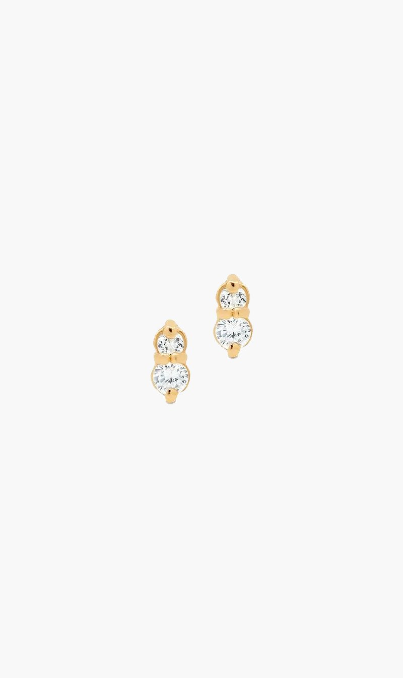 By Charlotte Jewellery GOLD By Charlotte | Ear Stud Earrings - Gold