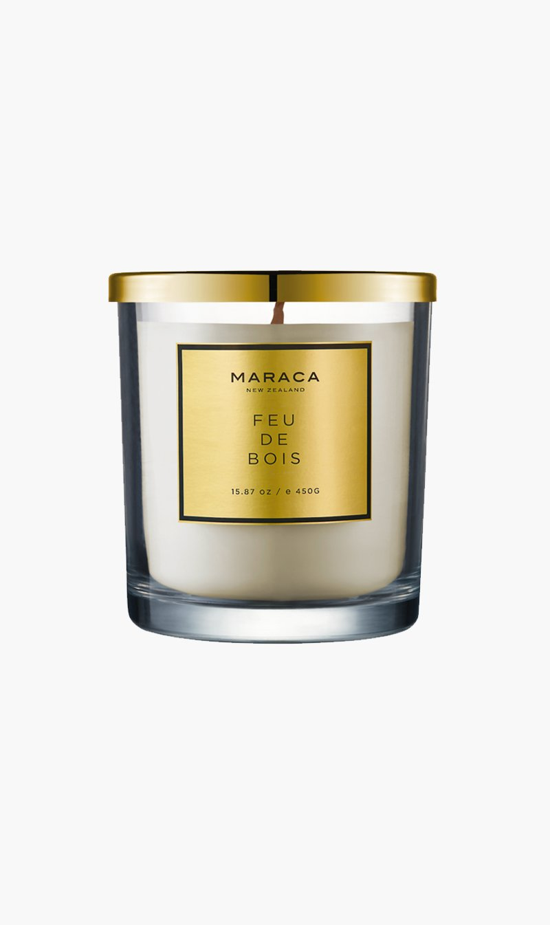 R O C CA Limited CANDLE FEUDEBOIS Maraca | Luxury Candle - Feu De Bois