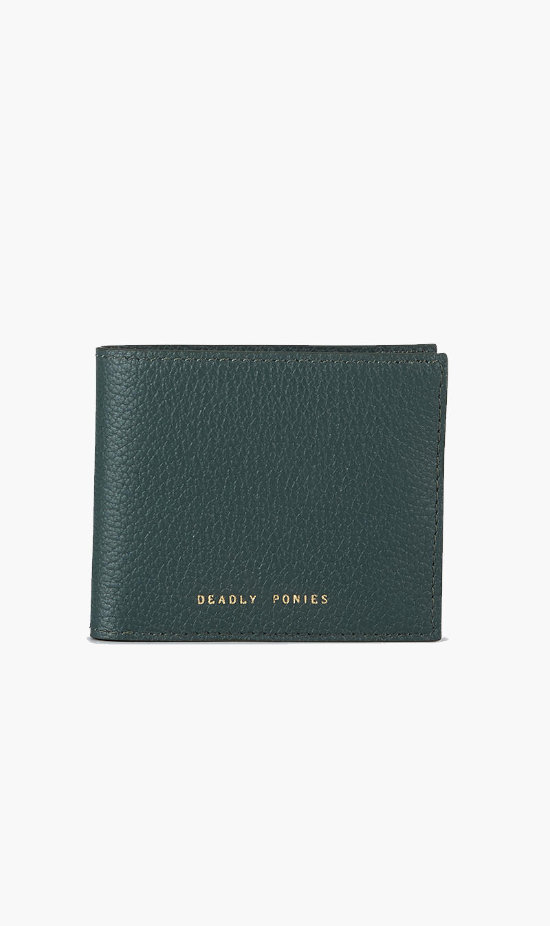 DEADLY PONIES ACC FOREST DEADLY PONIES | Flip Wallet - Forest