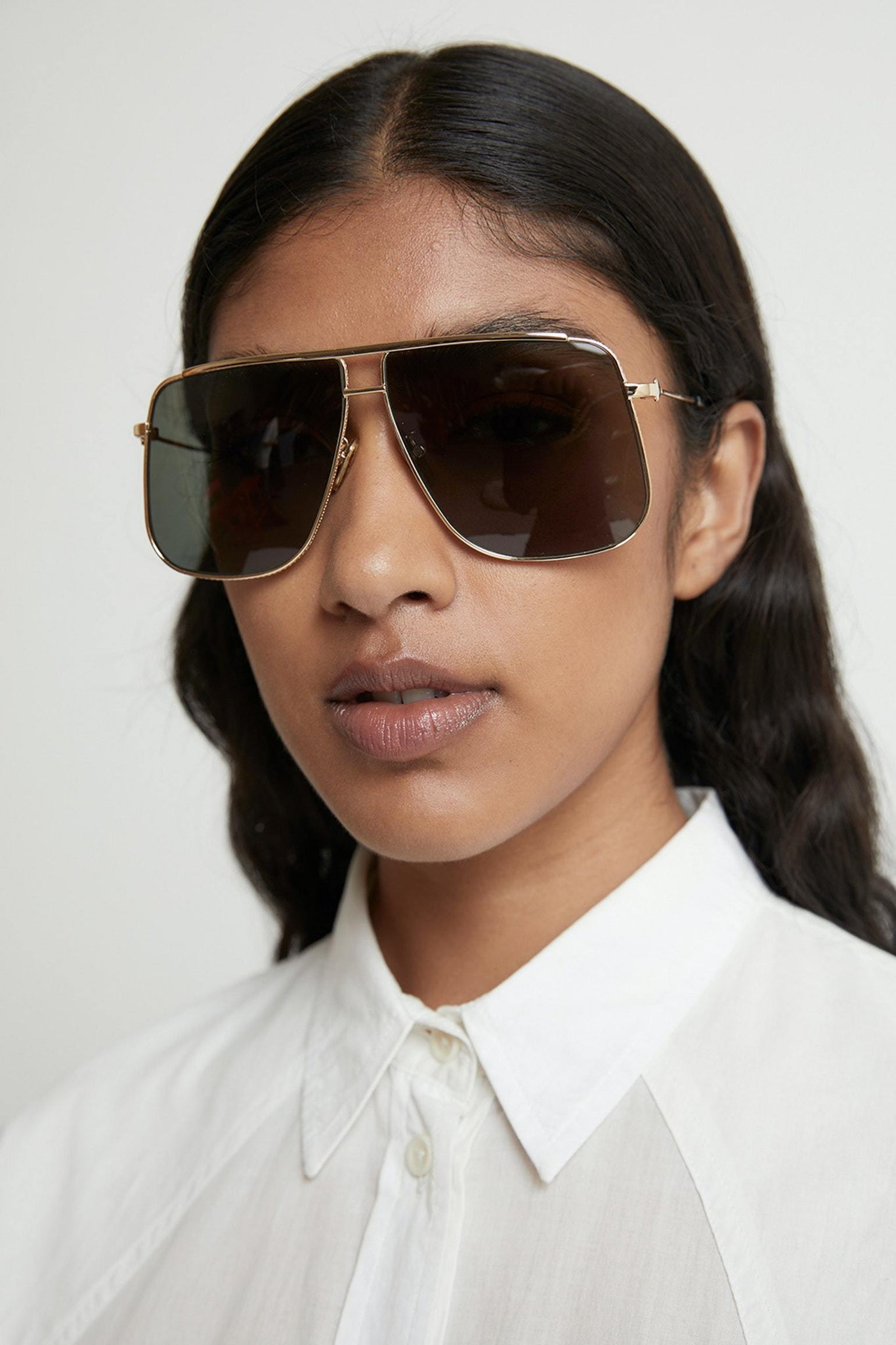 KAREN WALKER Eyewear BRTGOLD Karen Walker | Furnace - Bright Gold