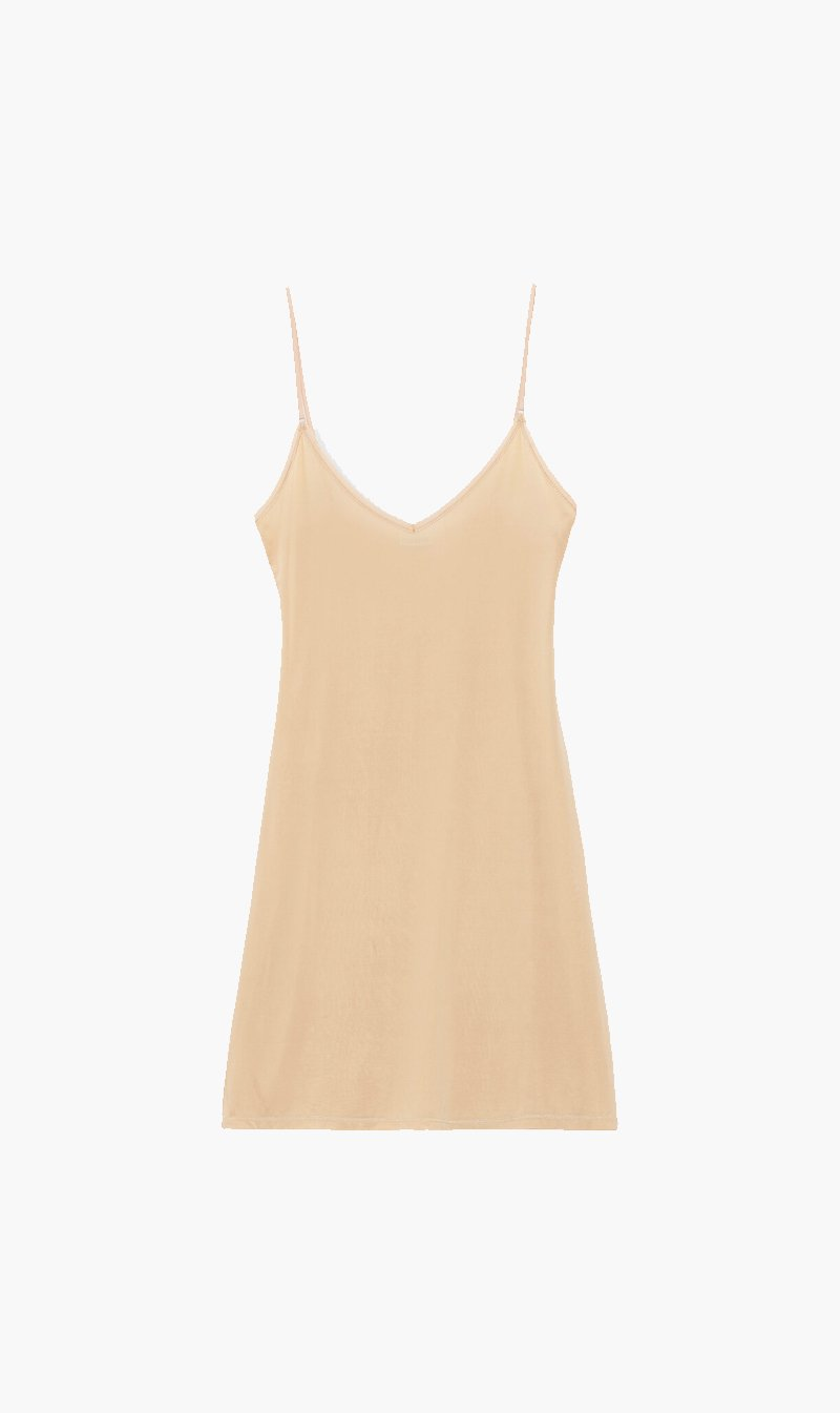 Ganni Womens Dress Ganni | Slip Dress - Tannin