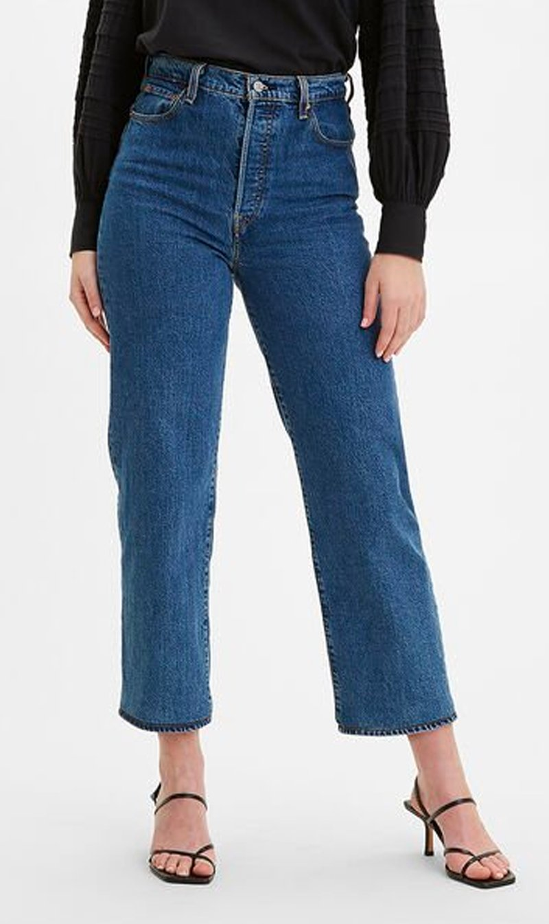 LEVI STRAUSS (NEW ZEALAND) LTD Womens Jeans Levi's | Ribcage Straight Ankle - Georgie
