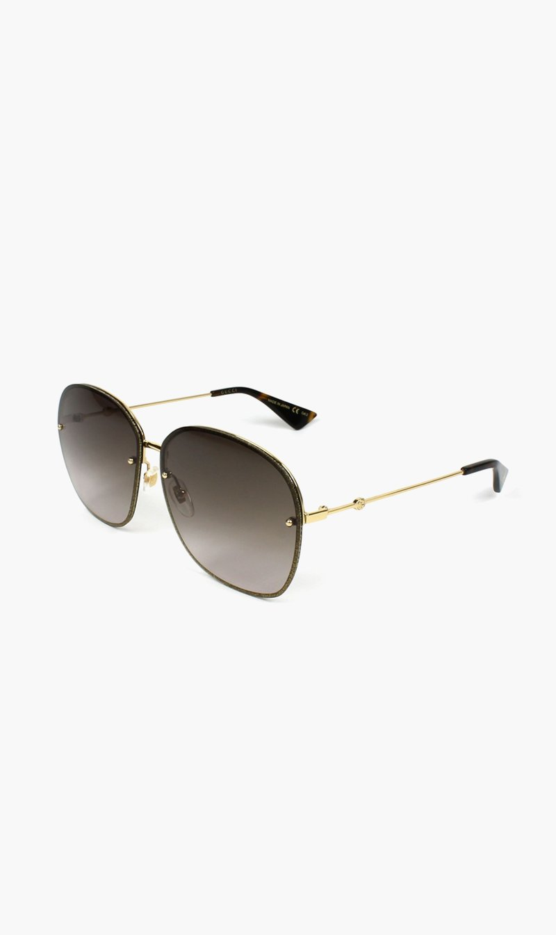 SUNSHADES EYEWEAR NZ Eyewear GOLD Gucci | 0228S003 - Gold