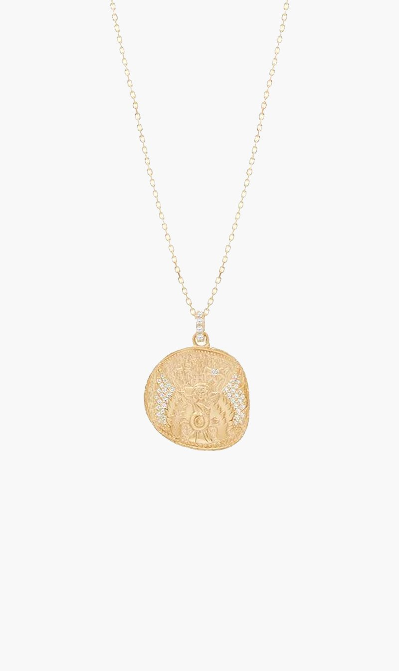 By Charlotte Jewellery GOLD By Charlotte | Goddess of Air Necklace - Gold